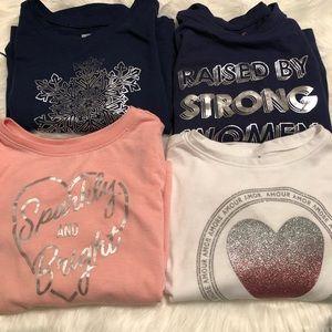 Girls Long Sleeve Shirts
